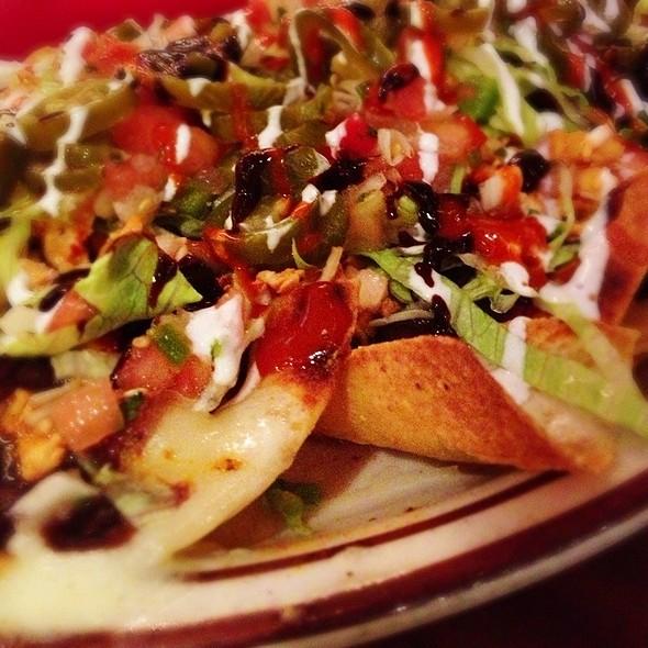 Chicken Nachos - Mezcal Denver, Denver, CO