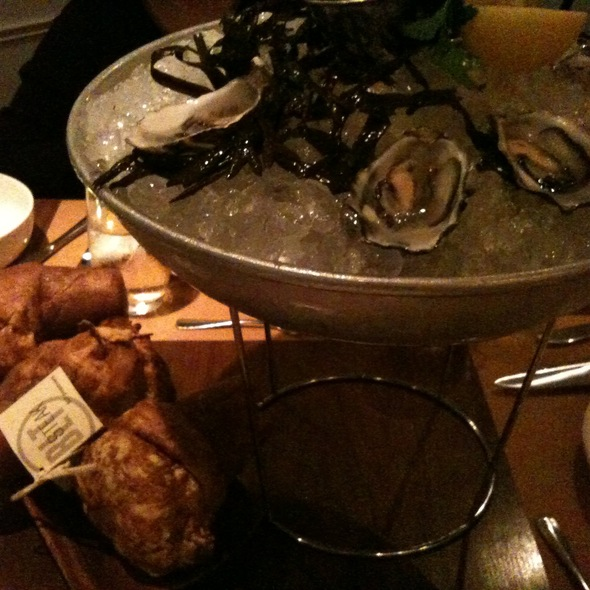 Oyster Platter @ BLT Steak