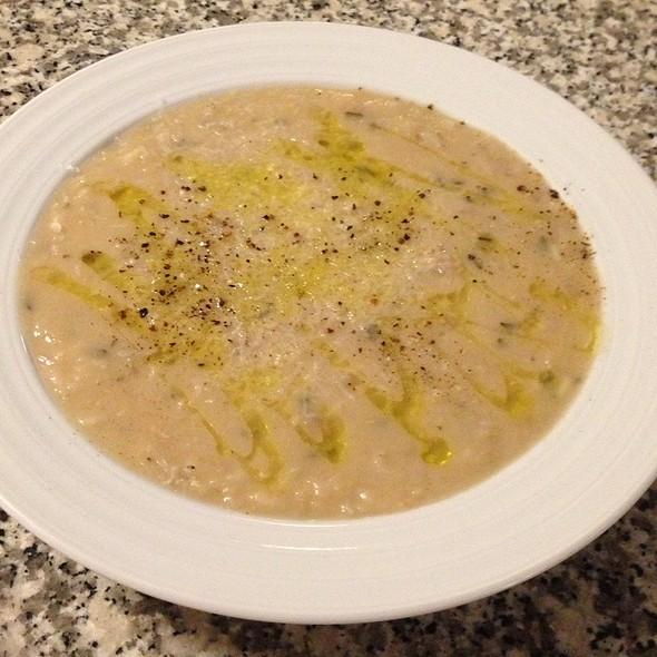 Minestra Di Fagioli Con Riso (Cannellini Bean And Rice Soup) @ Cafe Martin