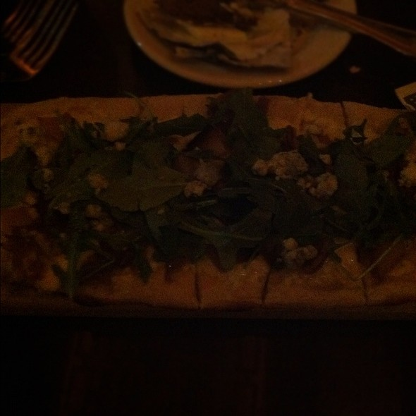 Pear Arugula Flatbread @ Cheesecake Factory