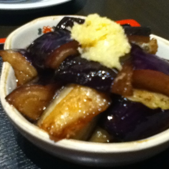 Eggplant In Dashi @ Kitchen Kura