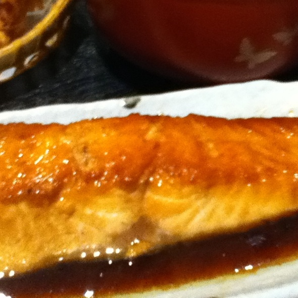 Baked Salmon @ Kitchen Kura