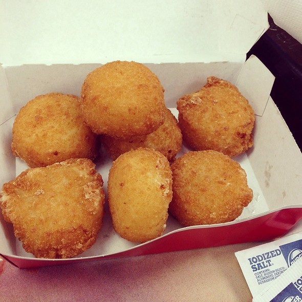 Cheesy Tots @ Burger King