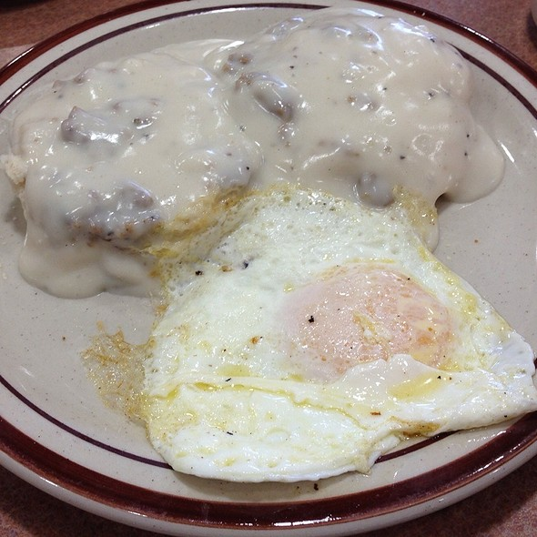 Biscuits And Gravy With Eggs @ Dennys