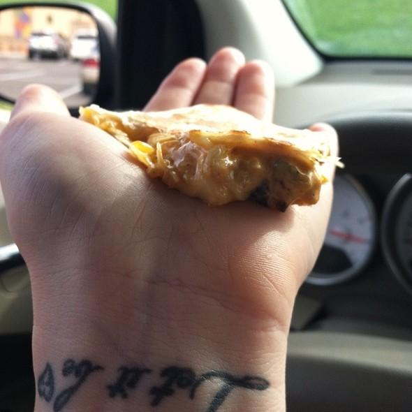 Chicken Quesadilla @ Taco Bell