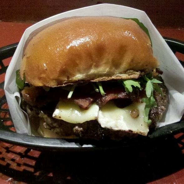 The Shipwreck Burger @ Winghart's Burger & Whiskey Bar