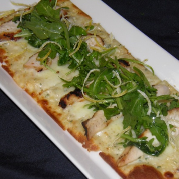 Chicken Artichoke Flatbread @ Carmel Cafe & Wine Bar