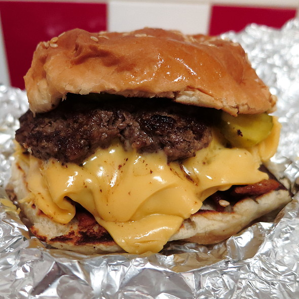 Cheeseburger @ Five Guys Burgers and Fries