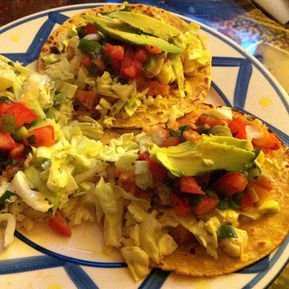 Shrimp Tacos With Cole Slaw And Pico De Gallo @ Home