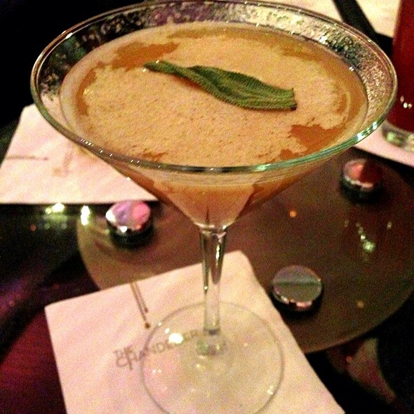 The Baked Alaska @ The Chandelier Bar at The Cosmopolitan of Las Vegas