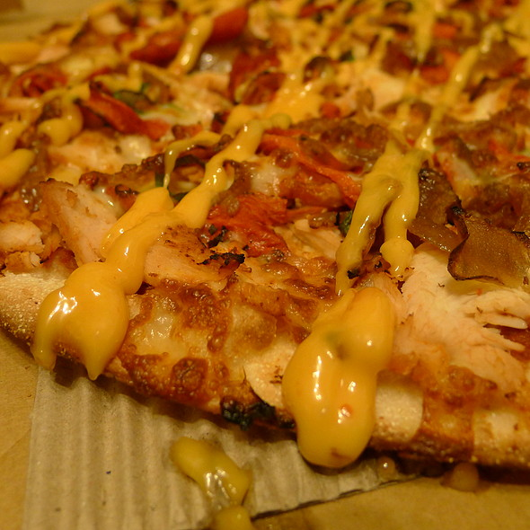 Peri Peri Chicken Pizza @ Crust Pizza Merrylands
