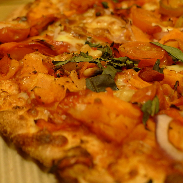 Sweet Potato Pizza @ Crust Pizza Merrylands