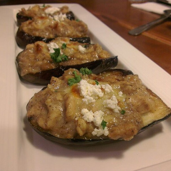Baked Eggplants With Cheese, Chicken And Olive Oil @ 希臘左巴(台大店)