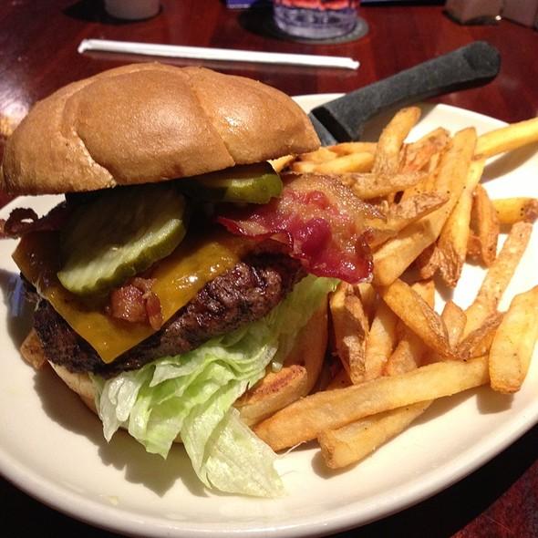 Bacon Cheddar Burger @ RAM Restaurant & Brewery