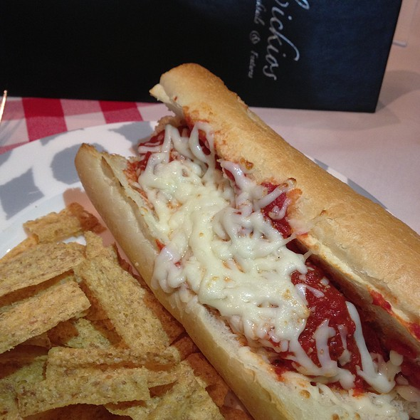 Meatball Sandwich - Delvickio's - Broomfield, Broomfield, CO