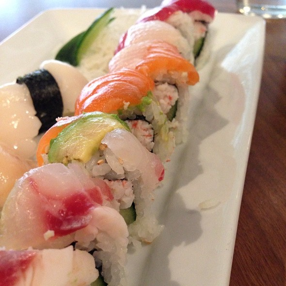 Rainbow Roll @ Hapa Sushi Grill & Sake Bar