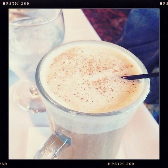 Hot Buttered Rum @ Hotel Mac Restaurant
