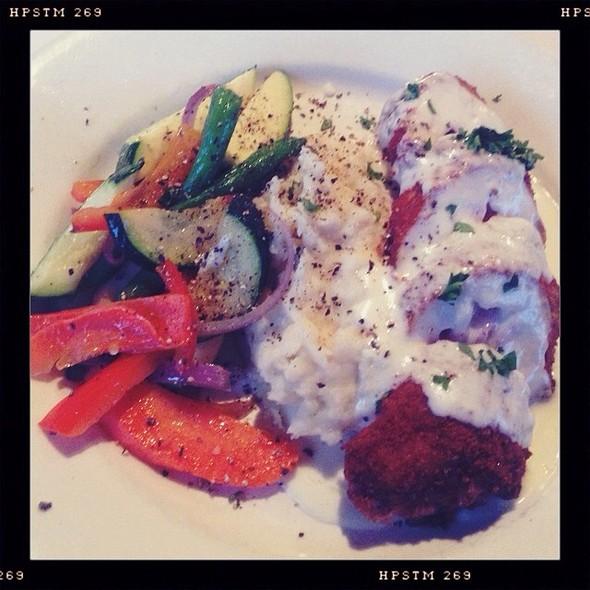 Chicken Cordon Bleu @ Hotel Mac Restaurant