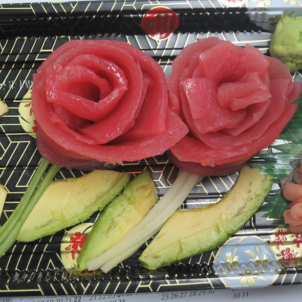 Tuna Sashimi Rose