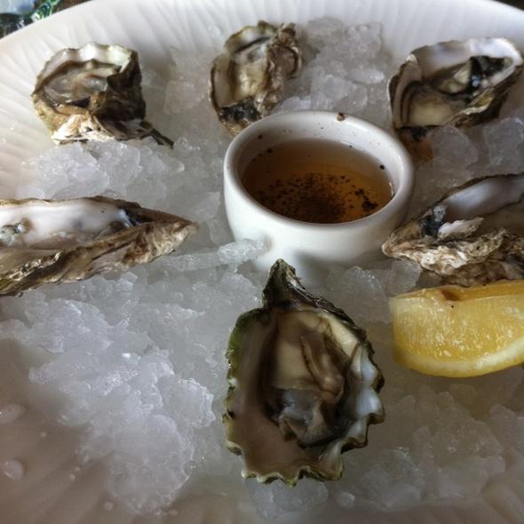 Tamales Bay Oyster @ Navio at the Ritz Carlton