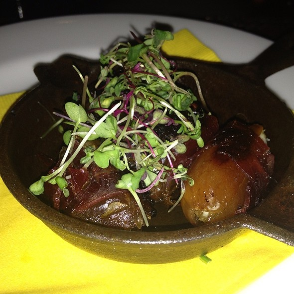Prechuto wrapped Dates stuffed with Goat Cheese @ Pera Mediterranean Brasserie