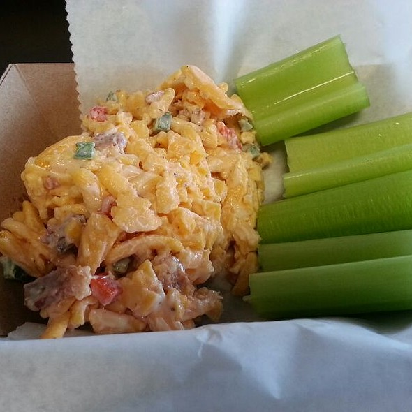 Jalapeño Bacon Pimento Cheese @ Freckled & Blue