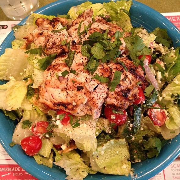Chicken Fattoush Salad - NOE GRILL at the Omni Houston Hotel, Houston, TX
