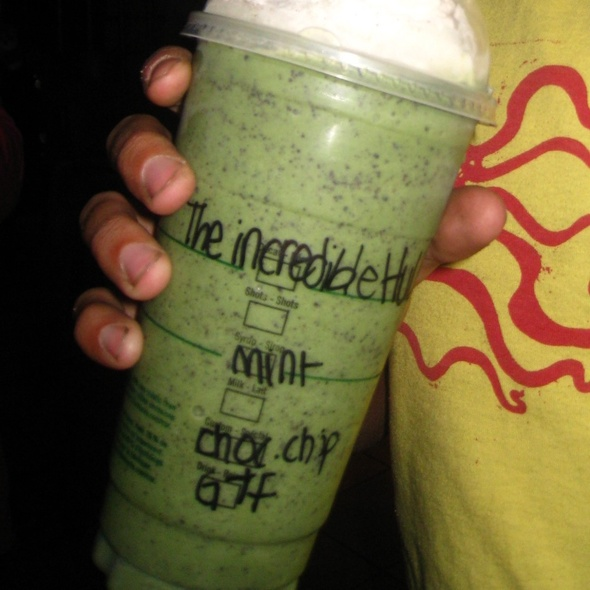 The Incredible Hulk @ Starbucks Coffee Company Ltd