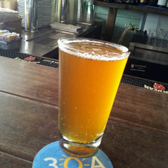 Sawgrass Wheat Beer  @ Great Southern Cafe