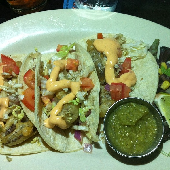Tempura Seitan Tacos @ Libertine Bar