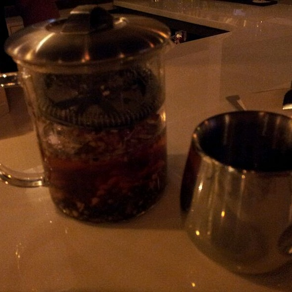 White Ginseng Detox Tea @ Aqua Coastal Sushi
