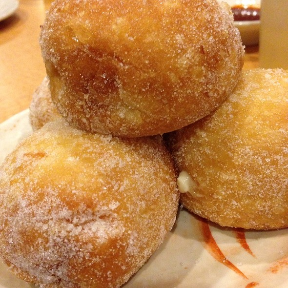 Malasadas Filled With Custard @ Island Sushi and Hawaiian Grill at the Plaza