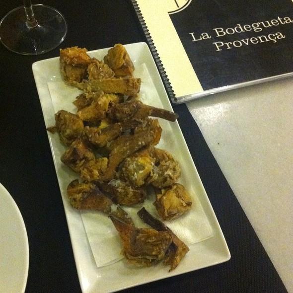 Alcachofras (Tapas Calientes) @ La Bodegueta De Provença