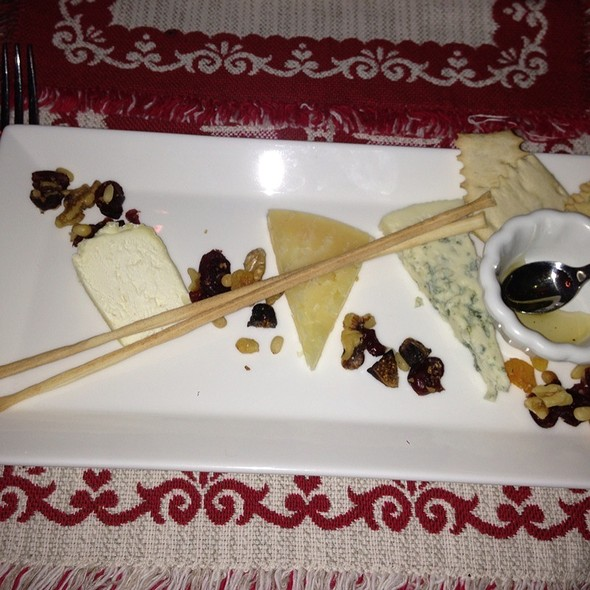 Assoetment Of Fine Cheeses @ Alpino Vino