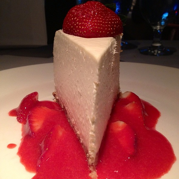 Strawberry Cheesecake - Del Frisco's Double Eagle Steak House - Boston, Boston, MA