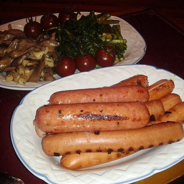 Sausages And Veggies @ Churchilito