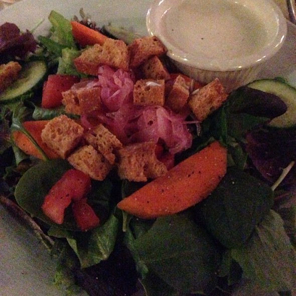 House Salad With Bleu Cheee - Marisol at the Cliffs Resort, Pismo Beach, CA