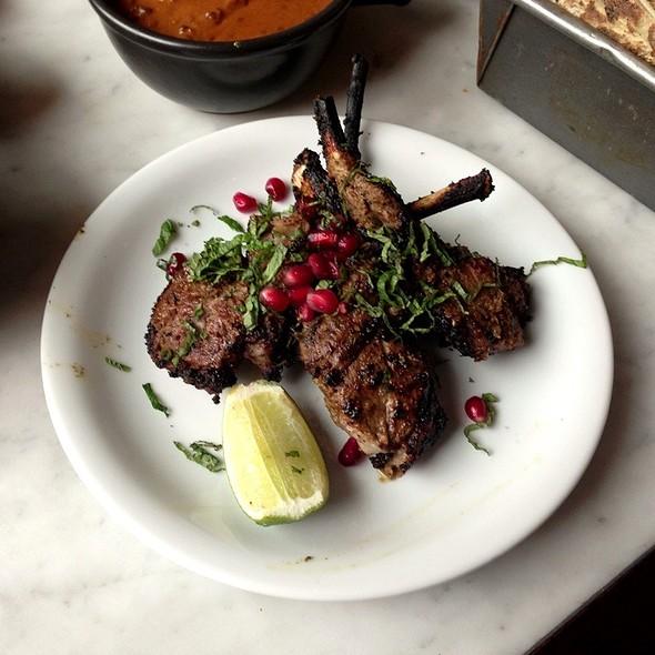 Spicy Lamb Chops @ Dishoom Shoreditch