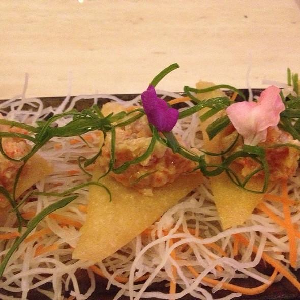 Spicy Tuna Crisps @ Geisha Modern Japanese Cuisine
