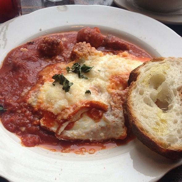 Eggs Ragu - Dino, Brooklyn, NY