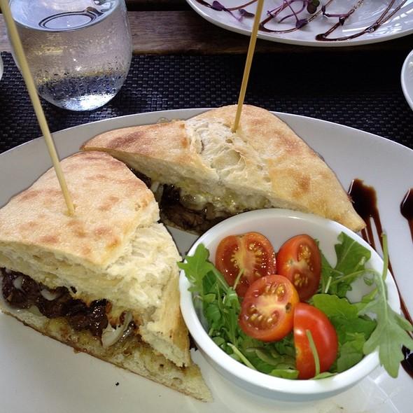 Bistecca Panini @ Leoci's Trattoria