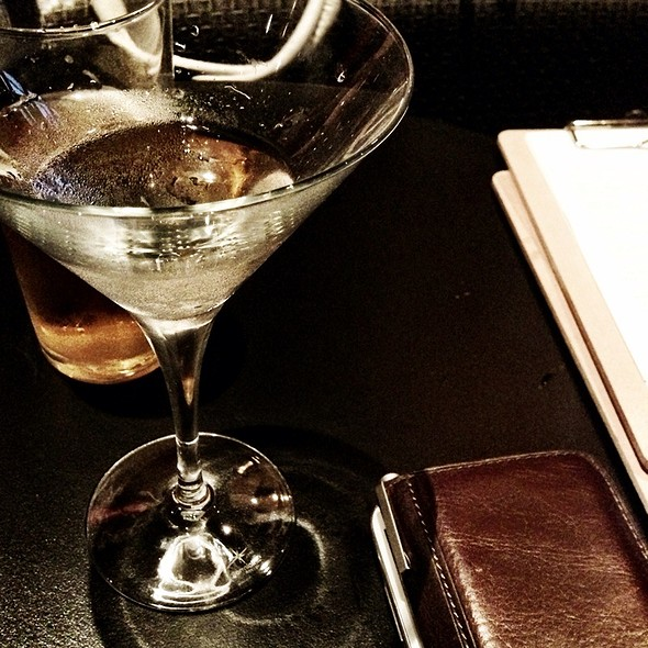 Gin Martini Straight Up @ Coco Lounge