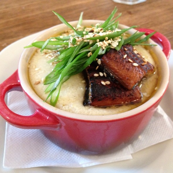 Chawanmushi With Eel And Foie Gras @ M. Wells Dinette