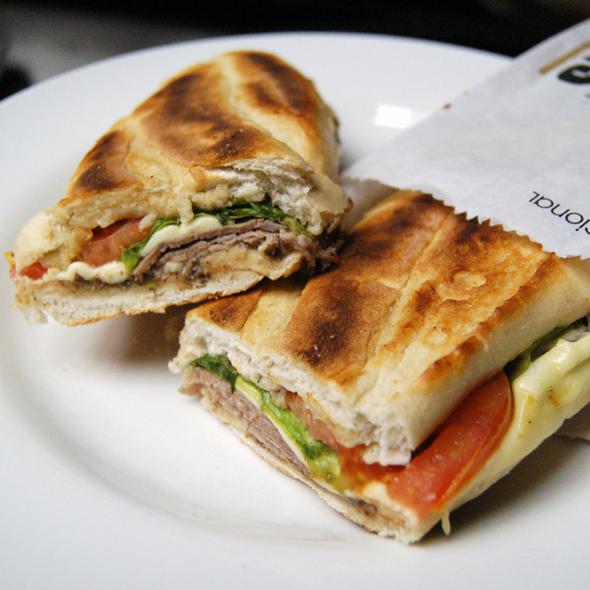Lorenzo sandwich @ Cafe Entrepans