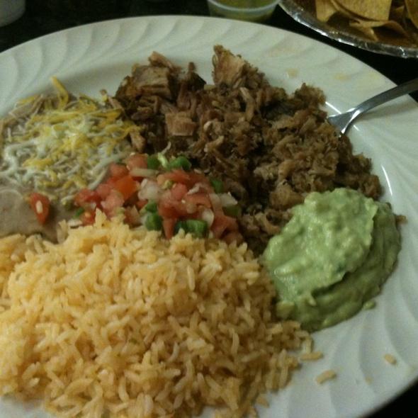 Carnitas Plate @ Taqueria Mi Pueblo