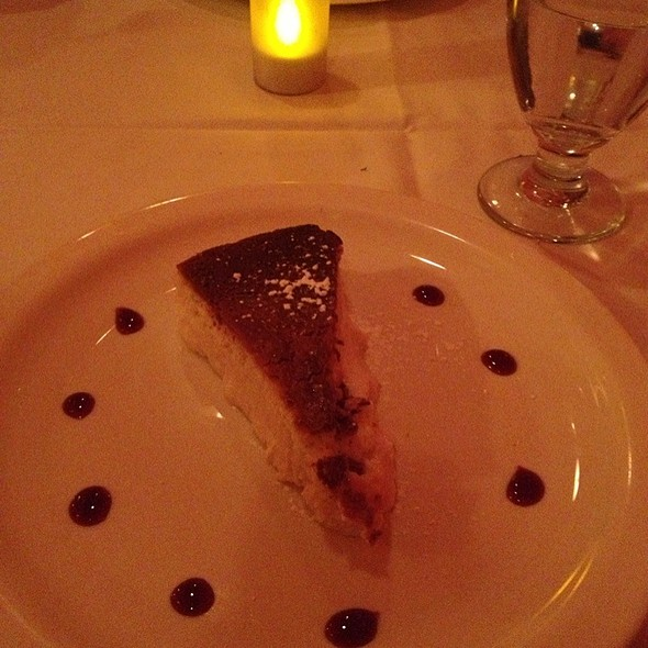 Ricotta Cheese Cake - BV Tuscany Italian Restaurant, Teaneck, NJ