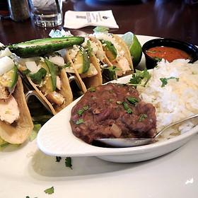 four tacos - Bar Louie - Uptown, Minneapolis, MN