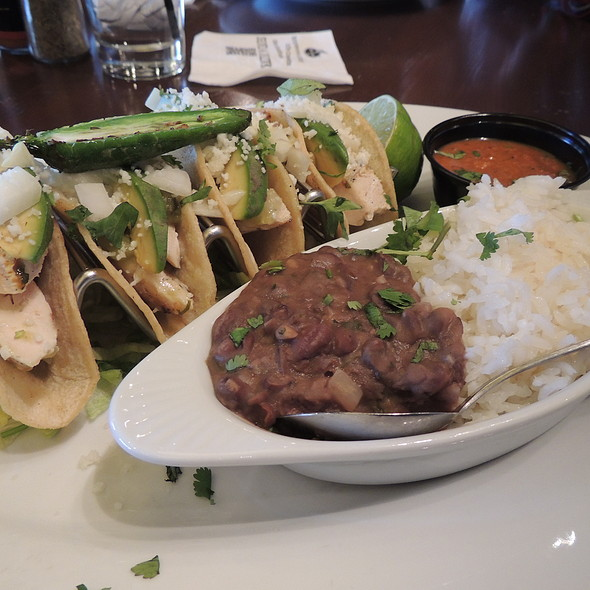 four tacos - Bar Louie - Uptown, Minneapolis, MN