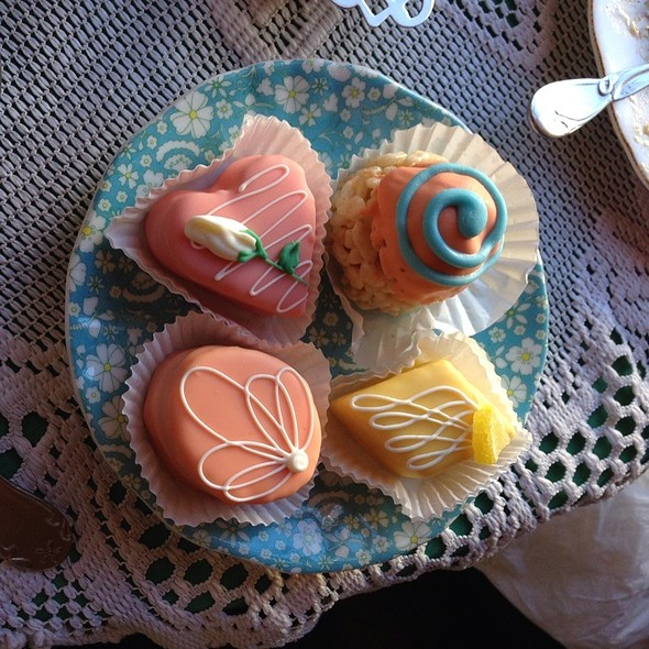 Petit Fours @ Lovejoy's Tea Room
