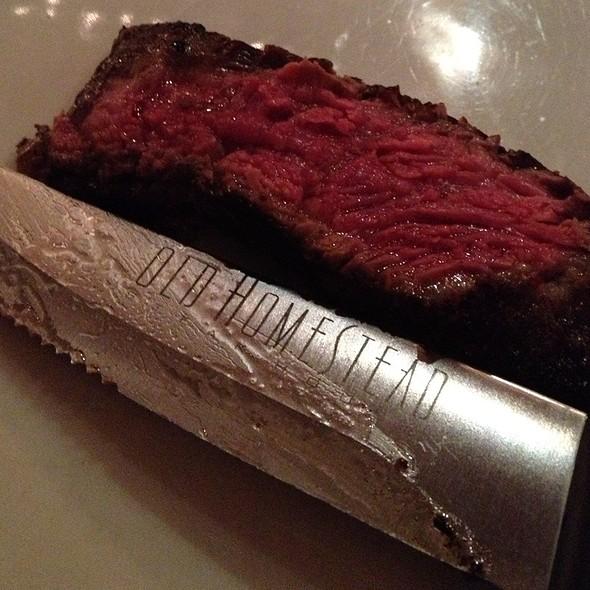 Gotham Rib Steak 34 Oz. - Old Homestead Steakhouse- New York City, New York, NY